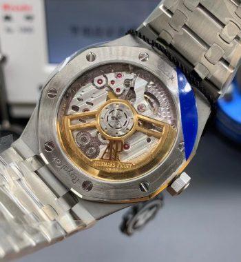 Royal Oak 41mm 15500 SS ZF Edition Blue Textured Dia SS Bracelet A4302