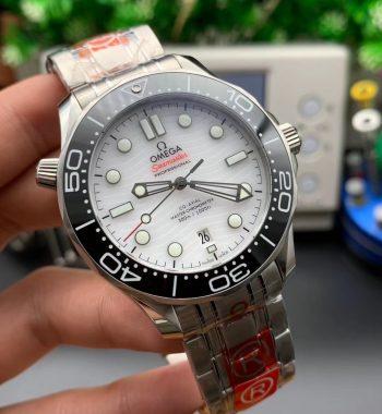 Seamaster 300M ORF Edition Black Ceramic White Dial SS Bracelet A8800