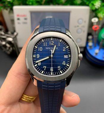 Aquanaut 5168G 42mm SS 3KF Edition Blue Dial Blue Rubber Strap A324 Super Clone