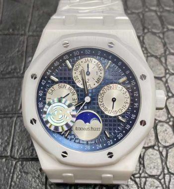 Royal Oak 41mm Complicated 26574 Full Ceramic APSF Edition Blue Dial Bracelet A5134