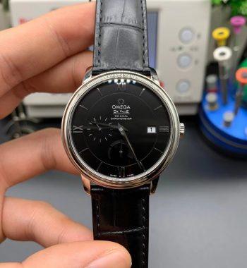 De Ville Prestige ZF Edition Black Dial Black Leather Strap MIYOTA 9015