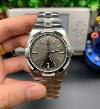 Overseas Ultra-Thin 2000V V8F Gray Dial SS Bracelet A1120