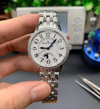 Rendez-Vous Night & Day SS GF WhiteTextured Dial Diamonds Bezel SS Bracelet A898